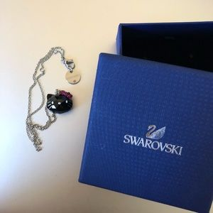 Swarovski Hello Kitty Necklace